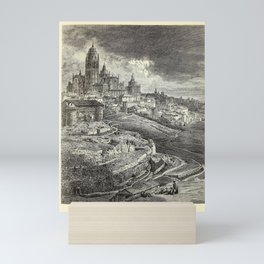 Gustave Doré - Spain (1874): Cathedral of Segovia Mini Art Print