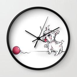 CATCH! Wall Clock