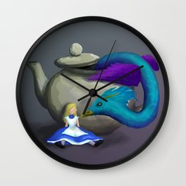 Occupied by an Occamy Wall Clock