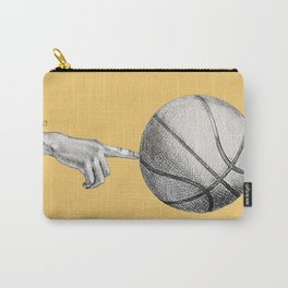 Basketball spin orange Carry-All Pouch