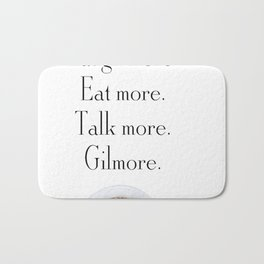 Gilmore Girls A Year in the Life Bath Mat