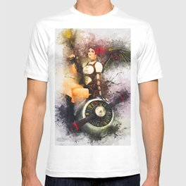 Aircraft Girl T-shirt