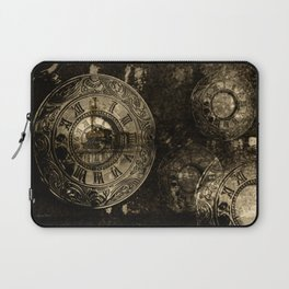Time for the Train Laptop Sleeve