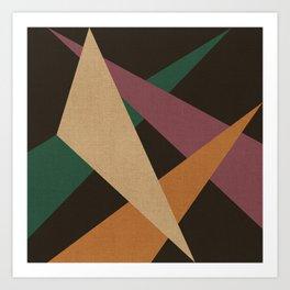 GEOMETRIC ABSTRACT 2 Art Print