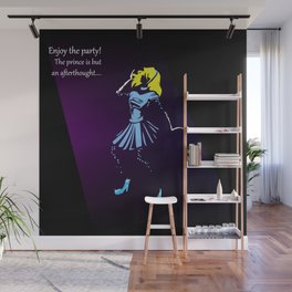 Glass Slipper Wall Mural