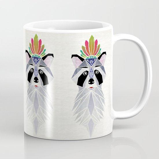 raccoon spirit Mug