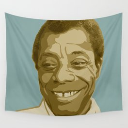 James Baldwin Wall Tapestry