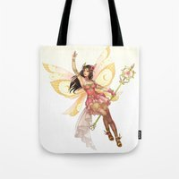 fairy Tote Bags featuring Fairy by clayscence