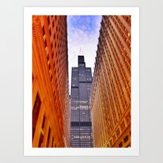 Willis Tower, Chicago Art Print
