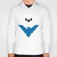nightwing Hoodies featuring Nightwing by JHTY