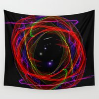 portal Wall Tapestries featuring Vacancy / Portal by Jan4insight