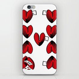 Delicious Deck: The Nine of Hearts iPhone Skin