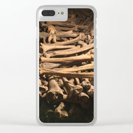 The Bones Clear iPhone Case