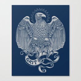 Grit Eagle Canvas Print