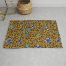 Spring Time Butterflies Rug