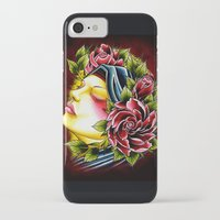 gypsy iPhone & iPod Cases featuring Gypsy by Voss fineart