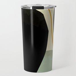 shapes organic mid century modern Travel Mug