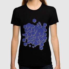 3D Futuristic Cubes IX T-shirt