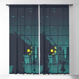 bioshock big daddy Blackout Curtain