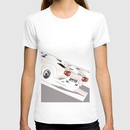 White Lamborghini Countach 1985 T-shirt