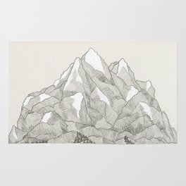The Mountains and the Woods Rug