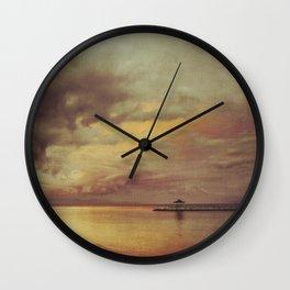 Walk Alone Wall Clock