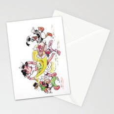 Three Cabafellows  Stationery Cards