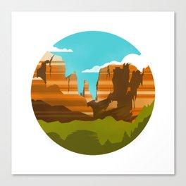 Canyons Canvas Print