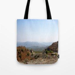 The Winding Road of Datca Peninsula, Turkey Tote Bag