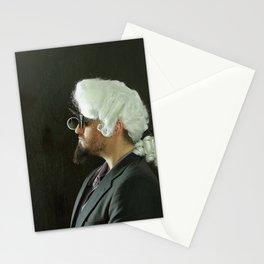 Rococo Portrait Stationery Cards