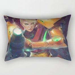 Samus Aran Rectangular Pillow