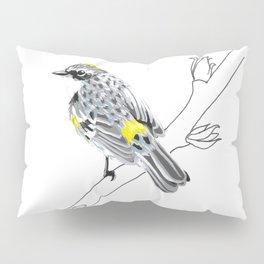 Why Do You Build Me Up, Butterbutt? (Yellow-rumped Warbler) Pillow Sham