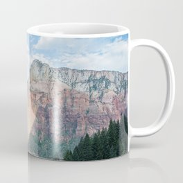 Zion National Park - Utah Natural Landscape, Sunset Photography Coffee Mug