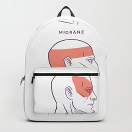 Felge an Bordstein  Backpack