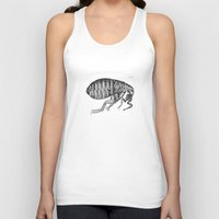 bug Tank Tops featuring bug by Azerkainen