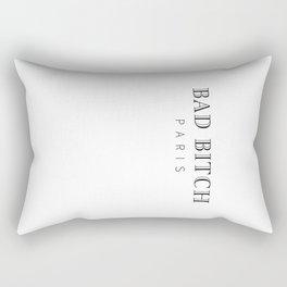 BAD BITCH PARIS Rectangular Pillow