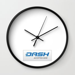 Accepted here: DASH Wall Clock
