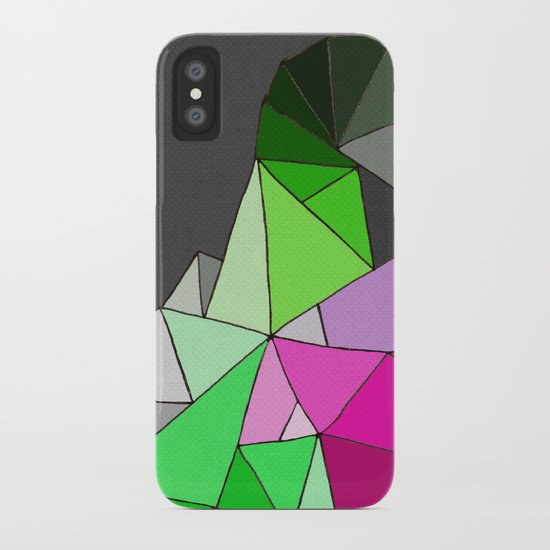 perfect colors in an imperfect configuration iPhone Case
