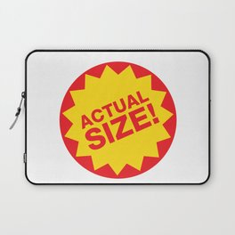Actual Size Laptop Sleeve