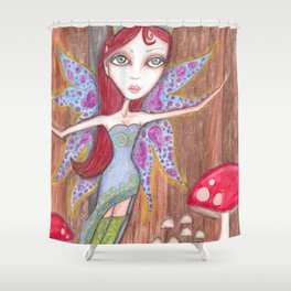 Forest Faerie Shower Curtain