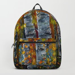 Aspen Trees by OLena Art Backpack