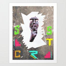 Secrets 2wo Art Print