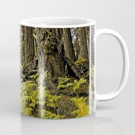 AUTUMN FOREST BRACKEN FERNS Coffee Mug