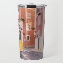 Lisbon Yellow Trolley Travel Mug