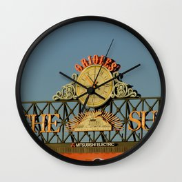 Orioles Wall Clock