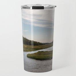 Yellowstone Fly Fishing Travel Mug