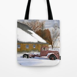 The Old Jalopy Tote Bag