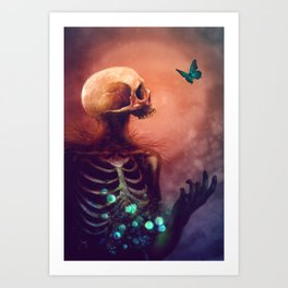 I'm dying, I hope you're dying too Art Print