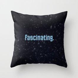 fascinating. Throw Pillow