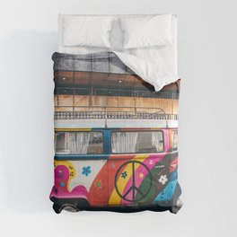 combi color flower pattern Comforters